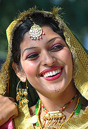 Punjabi woman smile