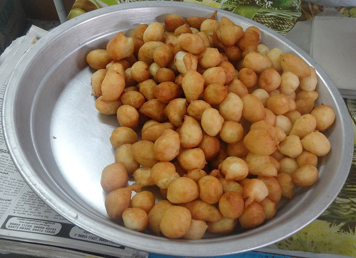 Punugulu wikidata for Andhra cuisine history
