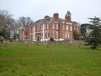 Upton Pyne - Pynes House