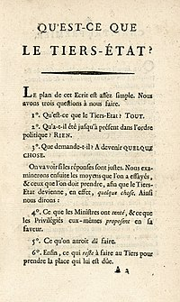 What Is the Third Estate? - Wikipedia