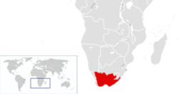 Distribución geogáfica histórica del cuaga.