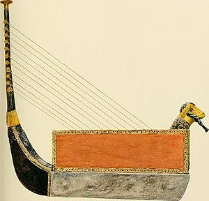 Puabi - Harp (restored) of Queen Puabi