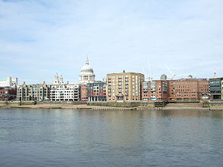 Queenhithe ancient ward of the City of London