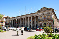 Quetzaltenango city hall area 2009.JPG