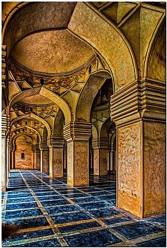 Qutb Shahi tombs - Image: Qutub Shahi Moque Interior
