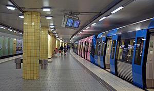 Rådmansgatan metro station