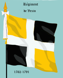 Image illustrative de l'article Régiment de Vexin (1762)