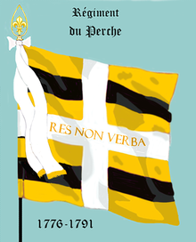 Image illustrative de l'article Régiment de Perche (1775)