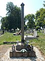Régi temető, A háború áldozatainak kopjafa emléke, 2019 Devecser.jpg