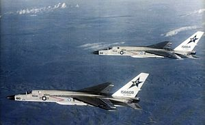 RA-5C Vigilantes RVAH-7 in flight 1979.jpg