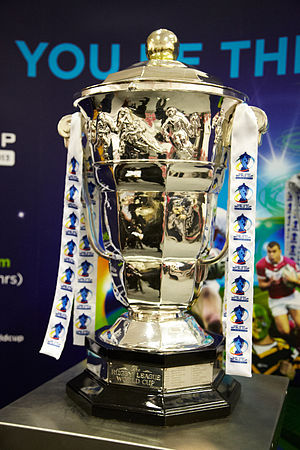 Rugby League World Cup - Image: RLWC trophy