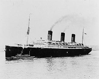 SS Imperator - RMS Berengaria