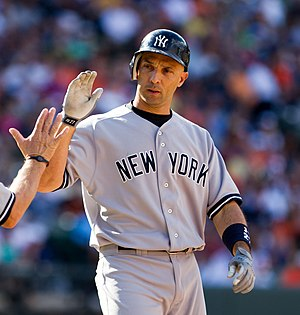 2012 New York Yankees season - Raúl Ibañez would set history in the 2012 MLB postseason after playing a huge role in the Yankees' 2012 season with the injury to Brett Gardner.