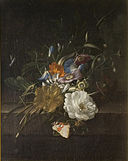 Rachel Ruysch - A still-life with a spray of flowers 2007BP3946.jpg