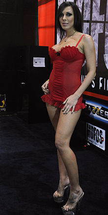 Rachel Starr at AVN Adult Entertainment Expo 2011.jpg