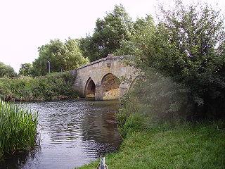 Radcot Bridge Grade I listed bridge in Grafton and Radcot, United Kingdom