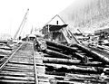 Railroad unloading dock with lumber mill in background, Snohomish County, ca 1913 (PICKETT 263).jpeg