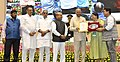 Ram Nath Kovind presenting the National Awards for Outstanding Services in the field of Prevention of Alcoholism and Substance (Drugs) Abuse (5).JPG