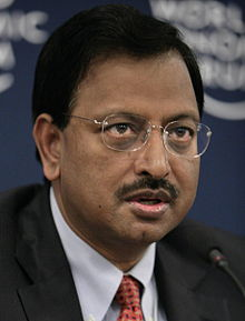 Ramalinga Raju at the 2008 Indian Economic Summit.jpg