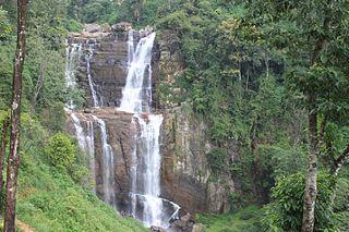 Ramboda Falls waterfall