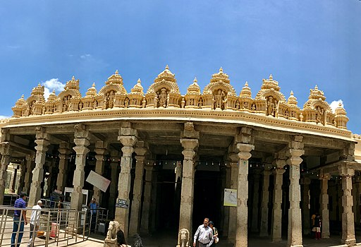 Ranganathaswamy Temple, Srirangapatna Karnataka India including Rama and Krishna