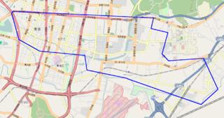 Baixia District former district of Nanjing, Jiangsu, China