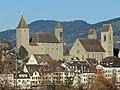 Rapperswil - Altstadt - Schloss und Stadtpfarrkirche - Holzbrücke 2017-11-22 14-48-23.JPG