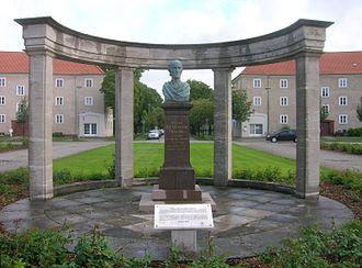 Alexander Calandrelli - Büste für das Duncker-Denkmal in Rathenow, 1885
