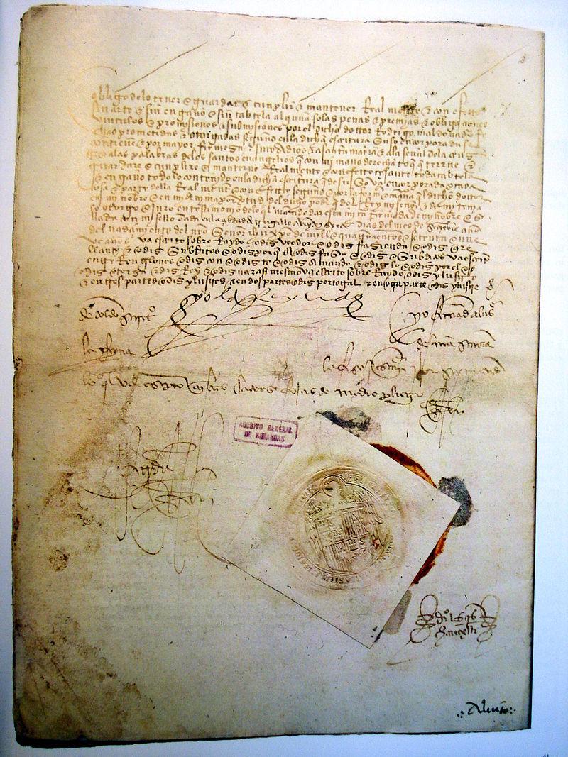 Ratificacion tratado Alcaçovas.JPG