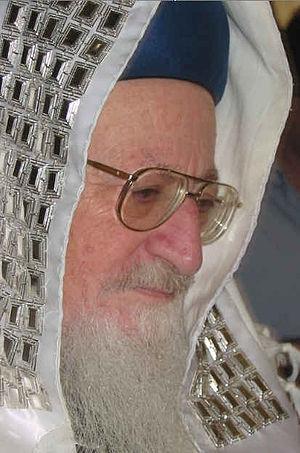 Mordechai Eliyahu - Image: Rav Mordechai Eliyahu