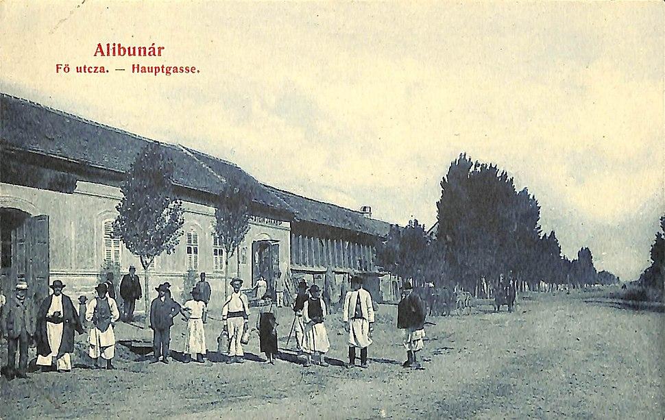 Razglednica iz Alibunara