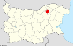 Razgrad Municipality within Bulgaria and Razgrad Province.