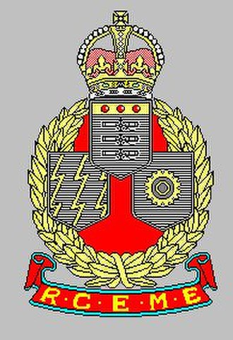 Corps of Royal Canadian Electrical and Mechanical Engineers - RCEME 1944