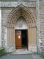Rear entrance to The Immaculate Conception, Farm Street - geograph.org.uk - 1090005.jpg