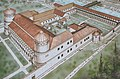 Reconstruction drawing of the Governor's Palace of Aquincum (Budapest) (36347195863).jpg