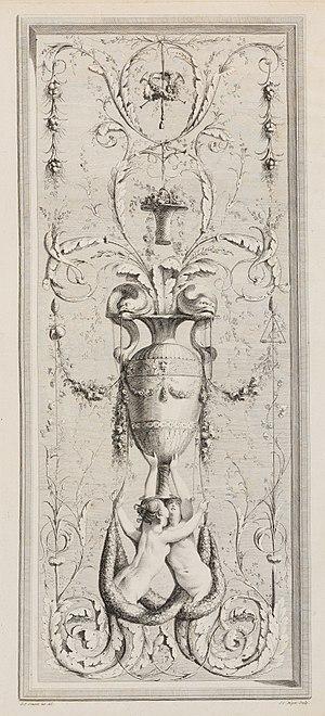 Gilles-Paul Cauvet - Image: Recueil d'Ornemens A l'Usage des Jeunes Artistes qui se destinent à la décoration des bâtimens MET DP105460