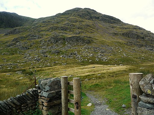 Red Screes seen from car park on Kirkstone Pass