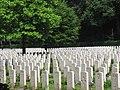 Reichswald Forest War Cemetery graves.jpg