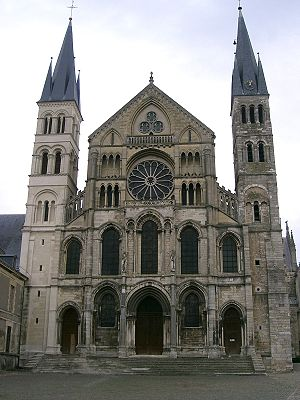 The Abbey of Saint-Remi in Reims, France.
