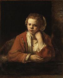 Rembrandt: The Kitchen Maid