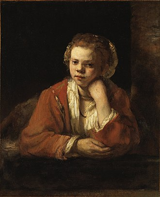 "Nationalmuseum - Image: Rembrandt Harmensz. van Rijn ""The Kitchen Maid"" Google Art Project"