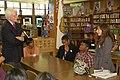 Rep. Miller visits De Anza High School (6234803927).jpg