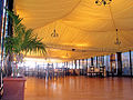 Restaurant with canopy tents and textile ceiling.jpg