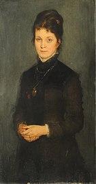 Retrato de señora - Friedrich August von Kaulbach.jpg