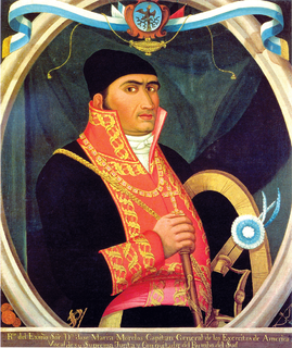 José María Morelos Mexican priest and rebel leader of Mexican War of Independence