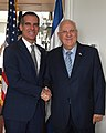 Reuven Rivlin meeting with the Mayor of Los Angeles, November 2017 (8146).jpg