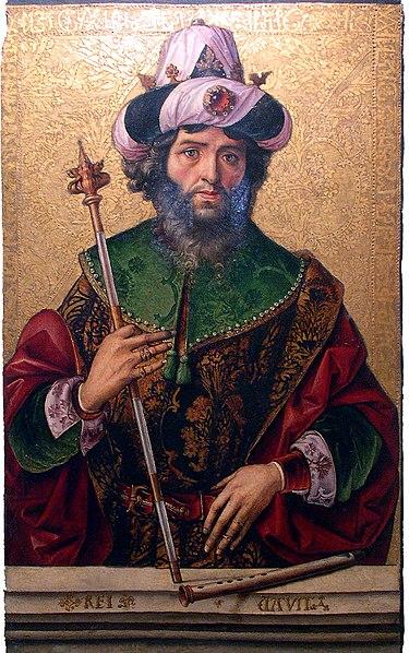 Archivo:Rey David por Pedro Berruguete.JPG