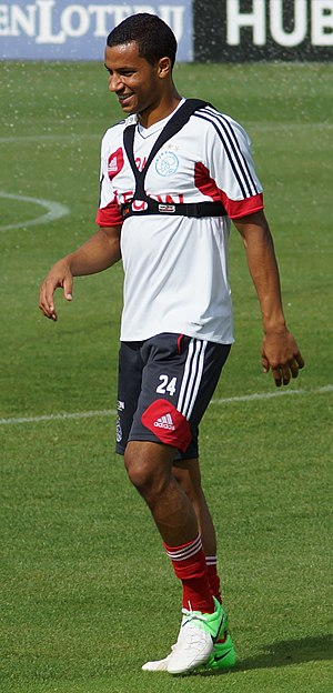 Ricardo van Rhijn - Van Rhijn training with Ajax in August 2012.