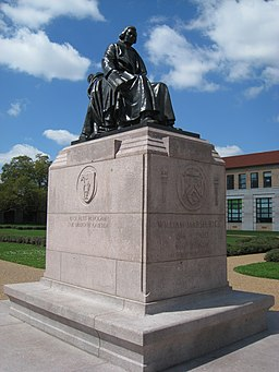Rice University - William Marsh Rice memorial
