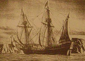 Battle of Pantelleria (1586) - English Galleon Edward Bonaventure